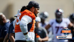 NT Mike Purcell's ankle injury not 'too bad,' but...