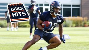 Chicago Bears want ball in David Montgomery's...