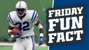Edgerrin James' Historic First Two Seasons in the...