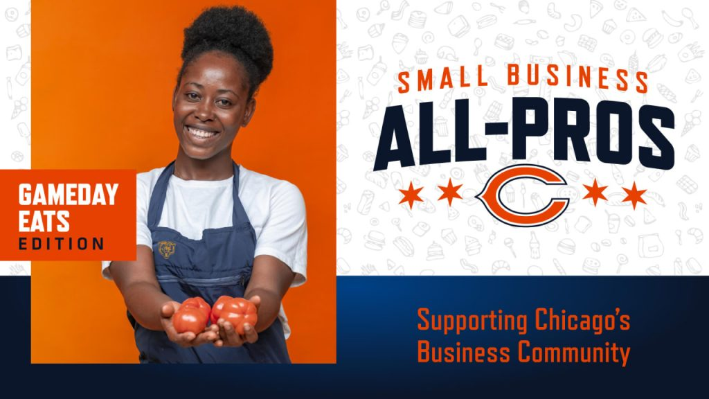 Chicago Bears launch Small Business All-Pros...