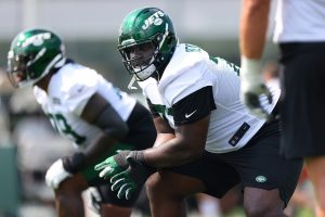 Jets offensive line aims for continuity that's...
