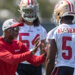 49ers-linebackers-coach-johnny-holland-taking