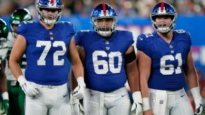 New York Giants place three players on injured...