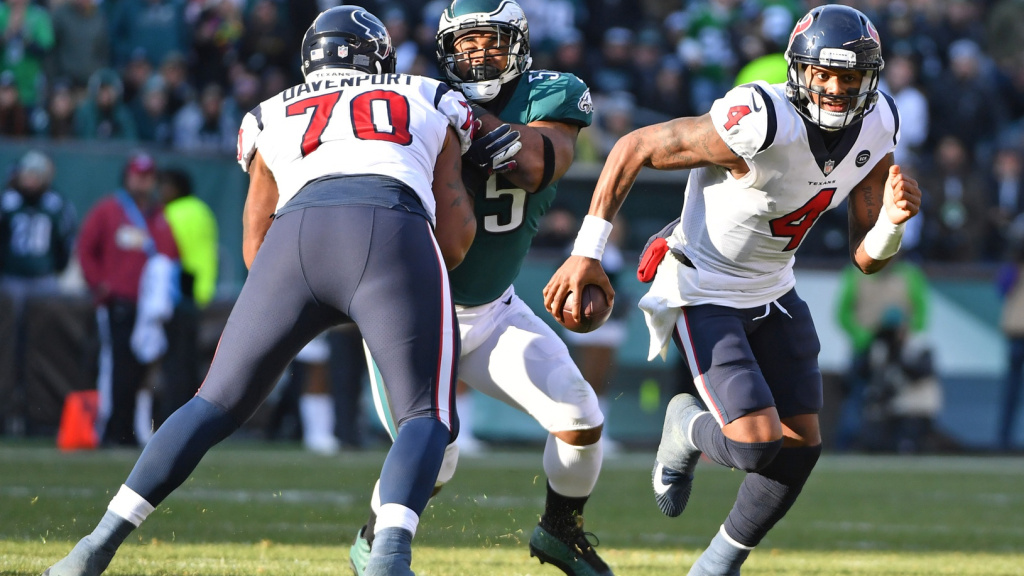Eagles appear to be out of the Deshaun Watson...
