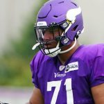 Christian Darrisaw had a core muscle procedure