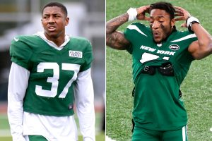 Jets' success may hinge on corners Bryce Hall and...