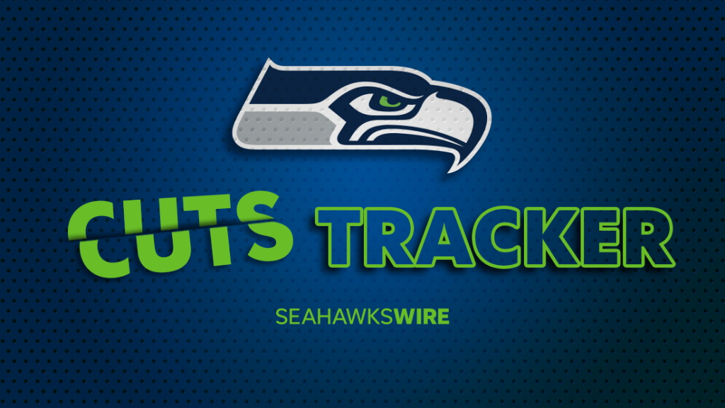 Seattle Seahawks 2021 initial 53-man roster cuts...