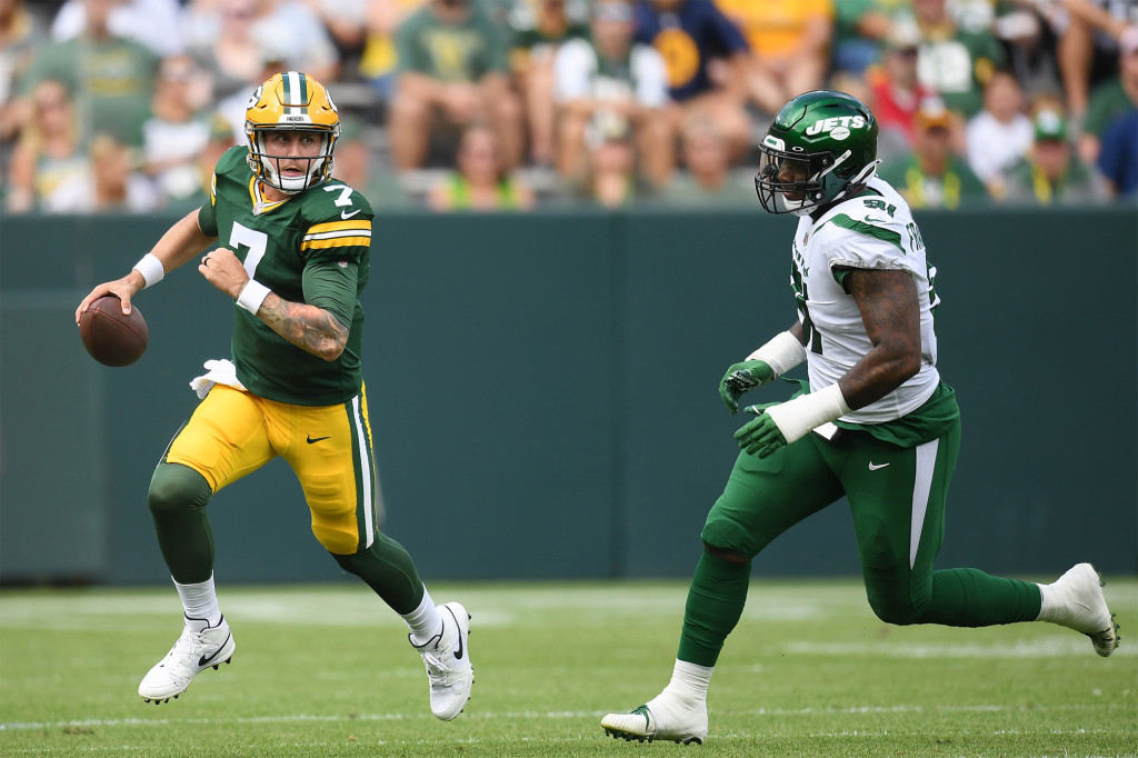 The Jets struggled against Packers