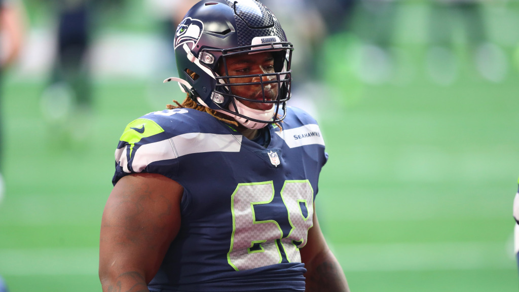 Seahawks guards have a bet on who gets the most...