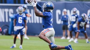 Sterling Shepard offers blunt take for those who...