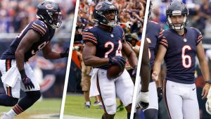 These 3 young Bears players produced impact plays...