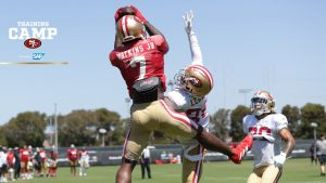 49ers Make Big Plays in Most Active and Physical...