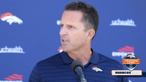 GM George Paton weighs in on Broncos' QB battle