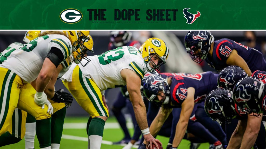 Packers open preseason against the Texans