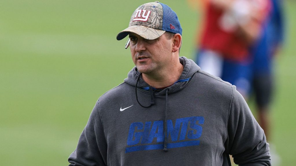 Why Joe Judge won't let up on New York Giants'...