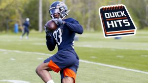 WR Dazz Newsome activated off PUP list   Chicago...