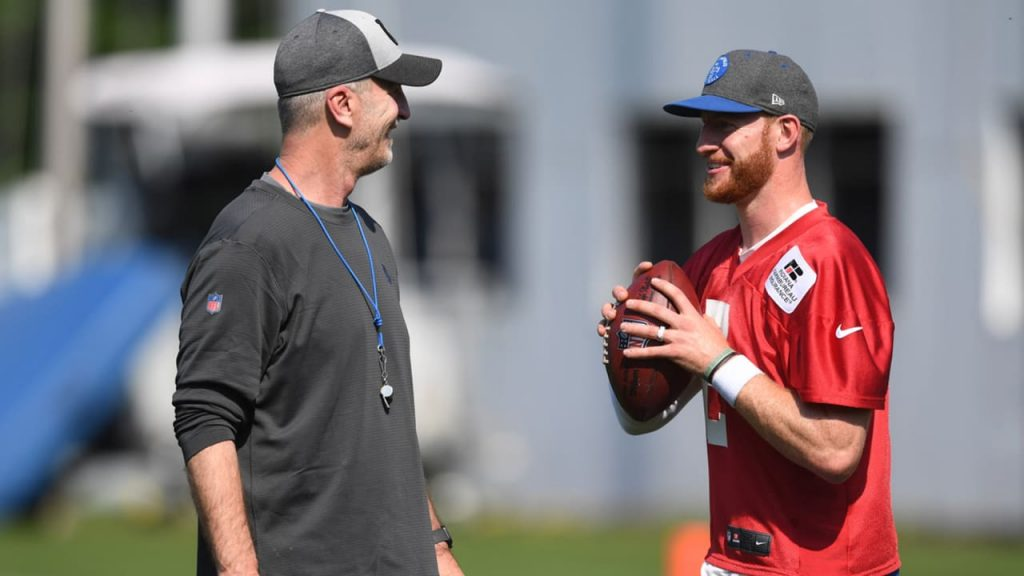 Frank Reich On Carson Wentz's Injury Recovery...