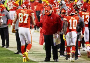 Travis Kelce helps fans meet the other side of...