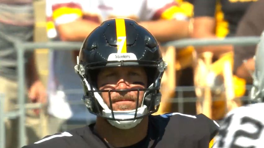 Big Ben Frustrated In His Play After Putting 'A...