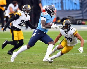 DVOA by Route: Cracks in the Steel Curtain