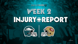 Eagles vs. 49ers final injury report: Rodney...