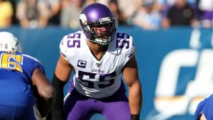 Anthony Barr out of practice after limited work...