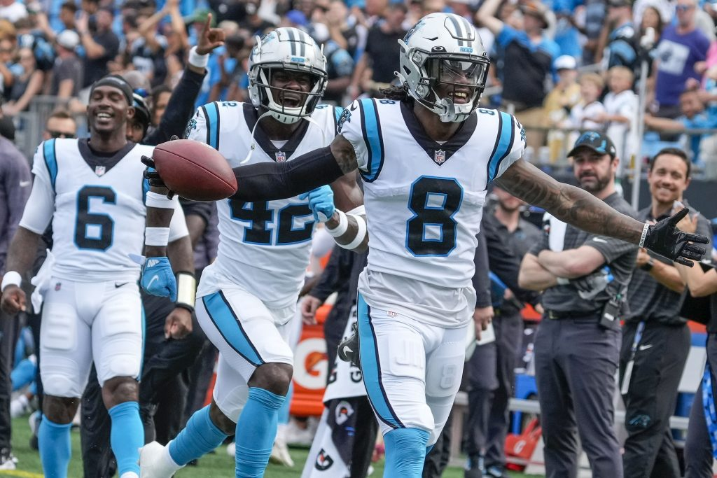 DVOA Week 2: Panthers No. 1 for First Time Ever