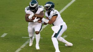 Projecting the Eagles offensive depth chart for...