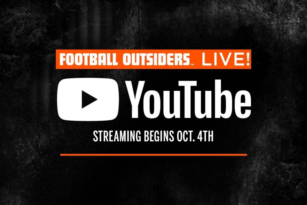 SITE NEWS: Football Outsiders LIVE! is moving to...