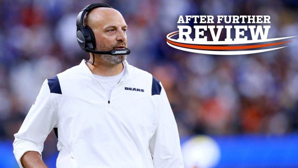 3 things that stood out to Matt Nagy in Chicago...