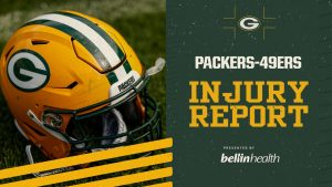 Packers-49ers Injury Report