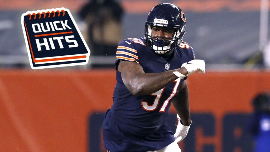 9/23 injury update, roster moves, Mario Edwards...