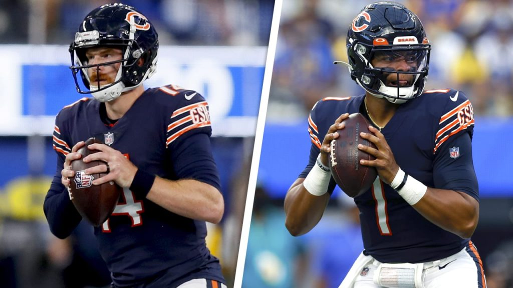 Chicago Bears not ready to name Andy Dalton or...