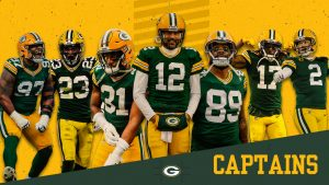 Packers elect seven team captains for 2021 season
