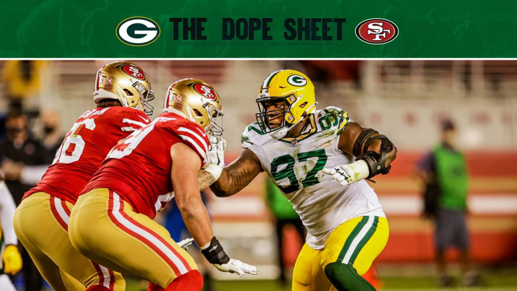 Packers travel out West to play the 49ers