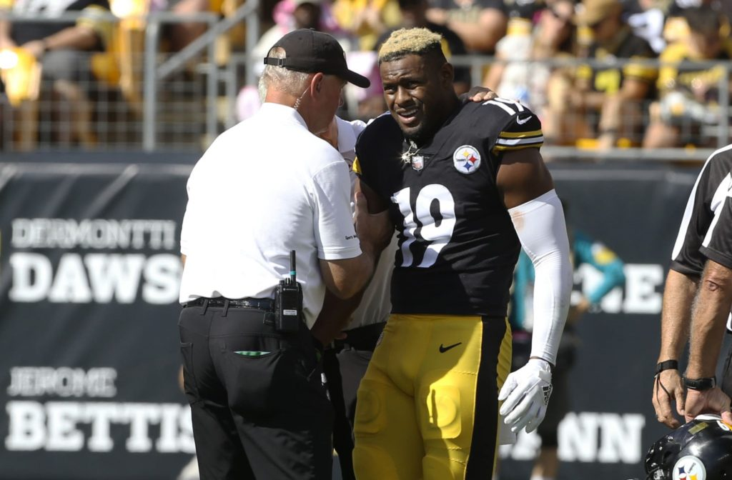 JuJu Smith-Schuster sends emotional message to...