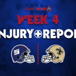 New York Giants rule Sterling Shepard, two others...