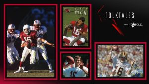 The Cardinals looked for a franchise quarterback...